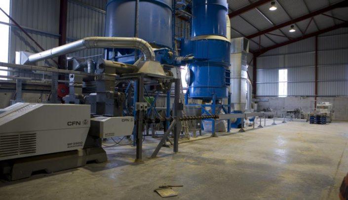 2 BP5500 briquetting presses