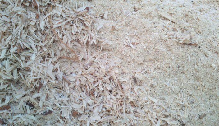 Sawdust for briquette production