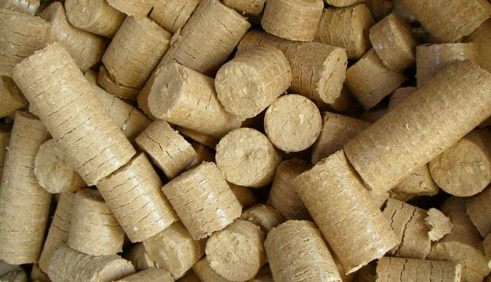 MDF briquettes