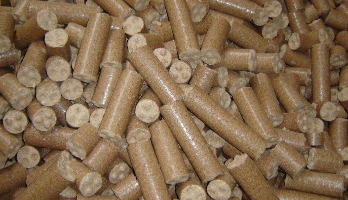 Finished briquettes