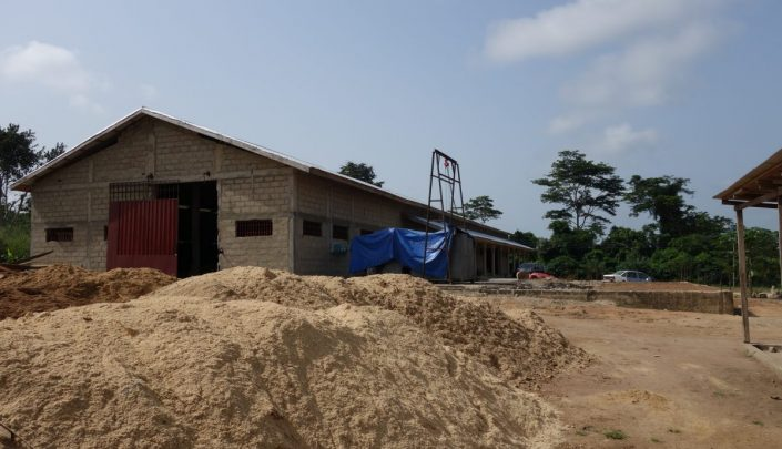 Briquetting factory in Ghana – project supported by NEFCO